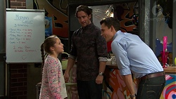 Poppy Jarvis, Brad Willis, Jack Callaghan in Neighbours Episode 7428