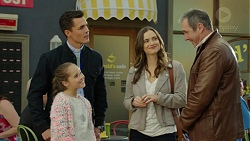 Jack Callaghan, Poppy Jarvis, Amy Williams, Karl Kennedy in Neighbours Episode 7429