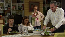 Ben Kirk, Elly Conway, Susan Kennedy, Karl Kennedy in Neighbours Episode 7429