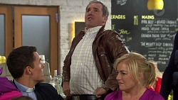 Jack Callaghan, Karl Kennedy, Lauren Turner in Neighbours Episode 7429