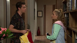 Ben Kirk, Xanthe Canning in Neighbours Episode 7429
