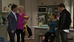 Brad Willis, Lauren Turner, Piper Willis, Ned Willis in Neighbours Episode 7429
