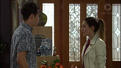 Ben Kirk, Alison Gore in Neighbours Episode 7430