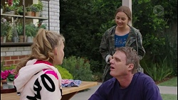 Xanthe Canning, Piper Willis, Gary Canning in Neighbours Episode 7430