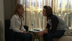 Xanthe Canning, Cooper Knights in Neighbours Episode 7431
