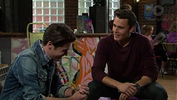 Ben Kirk, Jack Callahan in Neighbours Episode 7431