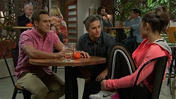 Aaron Brennan, Tyler Brennan, Paige Smith in Neighbours Episode 7431