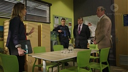 Sonya Rebecchi, Mark Brennan, Toadie Rebecchi, Clive West in Neighbours Episode 7432