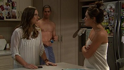 Amy Williams, Tyler Brennan, Paige Smith in Neighbours Episode 7432