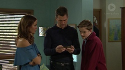 Elly Conway, Mark Brennan, Charlie Hoyland in Neighbours Episode 7432