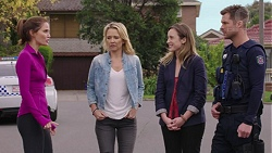 Elly Conway, Steph Scully, Sonya Mitchell, Mark Brennan in Neighbours Episode 7433