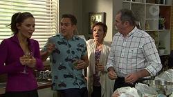 Elly Conway, Aaron Brennan, Susan Kennedy, Karl Kennedy in Neighbours Episode 7433