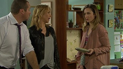 Toadie Rebecchi, Steph Scully, Sonya Mitchell in Neighbours Episode 7434