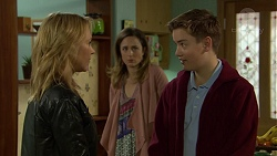 Steph Scully, Sonya Mitchell, Charlie Hoyland in Neighbours Episode 7434