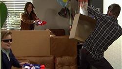 Charlie Hoyland, Amy Williams, Mark Brennan in Neighbours Episode 7434