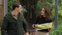Ari Philcox, Paige Smith in Neighbours Episode 7435