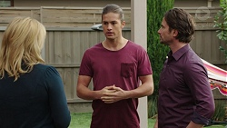 Lauren Turner, Tyler Brennan, Brad Willis in Neighbours Episode 7435