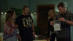 Sonya Rebecchi, Toadie Rebecchi, Steph Scully, Mark Brennan in Neighbours Episode 7436