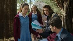 Alison Gore, Xanthe Canning, Cooper Knights, Ben Kirk in Neighbours Episode 7436