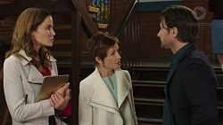 Elly Conway, Susan Kennedy, Brad Willis in Neighbours Episode 7437