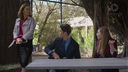 Elly Conway, Ben Kirk, Piper Willis in Neighbours Episode 7437