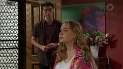 Ben Kirk, Xanthe Canning in Neighbours Episode 7437