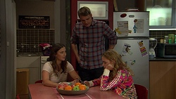 Amy Williams, Gary Canning, Xanthe Canning in Neighbours Episode 7438