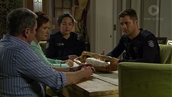 Karl Kennedy, Susan Kennedy, Mark Brennan in Neighbours Episode 7438