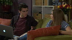 Ben Kirk, Piper Willis in Neighbours Episode 7438
