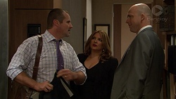 Toadie Rebecchi, Terese Willis, Tim Collins in Neighbours Episode 7438