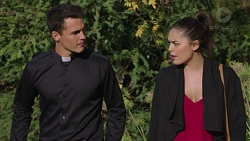 Jack Callaghan, Paige Novak in Neighbours Episode 7438