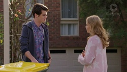 Ben Kirk, Xanthe Canning in Neighbours Episode 7438