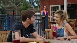 Ned Willis, Paige Novak, Madison Robinson in Neighbours Episode 7438
