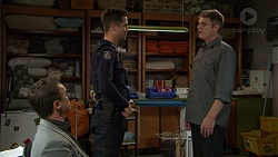 Paul Robinson, Mark Brennan, Gary Canning in Neighbours Episode 7438