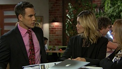 Aaron Brennan, Madison Robinson in Neighbours Episode 7439