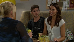 Lauren Turner, Ned Willis, Elly Conway in Neighbours Episode 7439