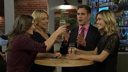Amy Williams, Steph Scully, Aaron Brennan, Madison Robinson in Neighbours Episode 7439
