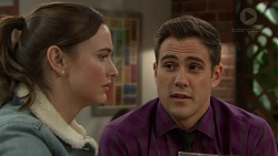 Amy Williams, Aaron Brennan in Neighbours Episode 7440