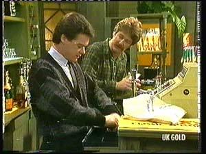 Paul Robinson, Alex Carter in Neighbours Episode 0318