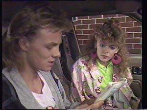 Scott Robinson, Charlene Mitchell in Neighbours Episode 0405