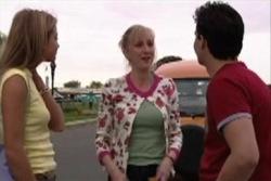 Felicity Scully, Maggie Hancock, Matt Hancock in Neighbours Episode 3932