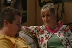 Toadie Rebecchi, Maggie Hancock in Neighbours Episode 3932