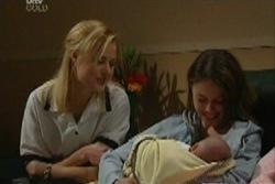 Dee Bliss, Libby Kennedy, Ben Kirk in Neighbours Episode 3932