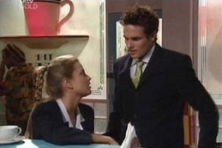 Felicity Scully, Marc Lambert in Neighbours Episode 3992