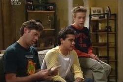 Evan Hancock, Matt Hancock, Leo Hancock in Neighbours Episode 3993