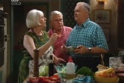 Rosie Hoyland, Lou Carpenter, Harold Bishop in Neighbours Episode 3994