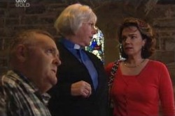 Lyn Scully, Rosie Hoyland, Harold Bishop in Neighbours Episode 3994