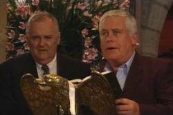 Harold Bishop, Lou Carpenter in Neighbours Episode 3995