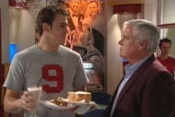Stuart Parker, Lou Carpenter in Neighbours Episode 3995