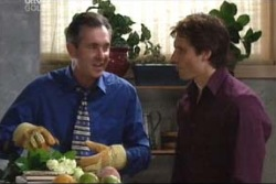 Karl Kennedy, Darcy Tyler in Neighbours Episode 3997